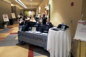 Myriad Supply Booth at NANOG 53
